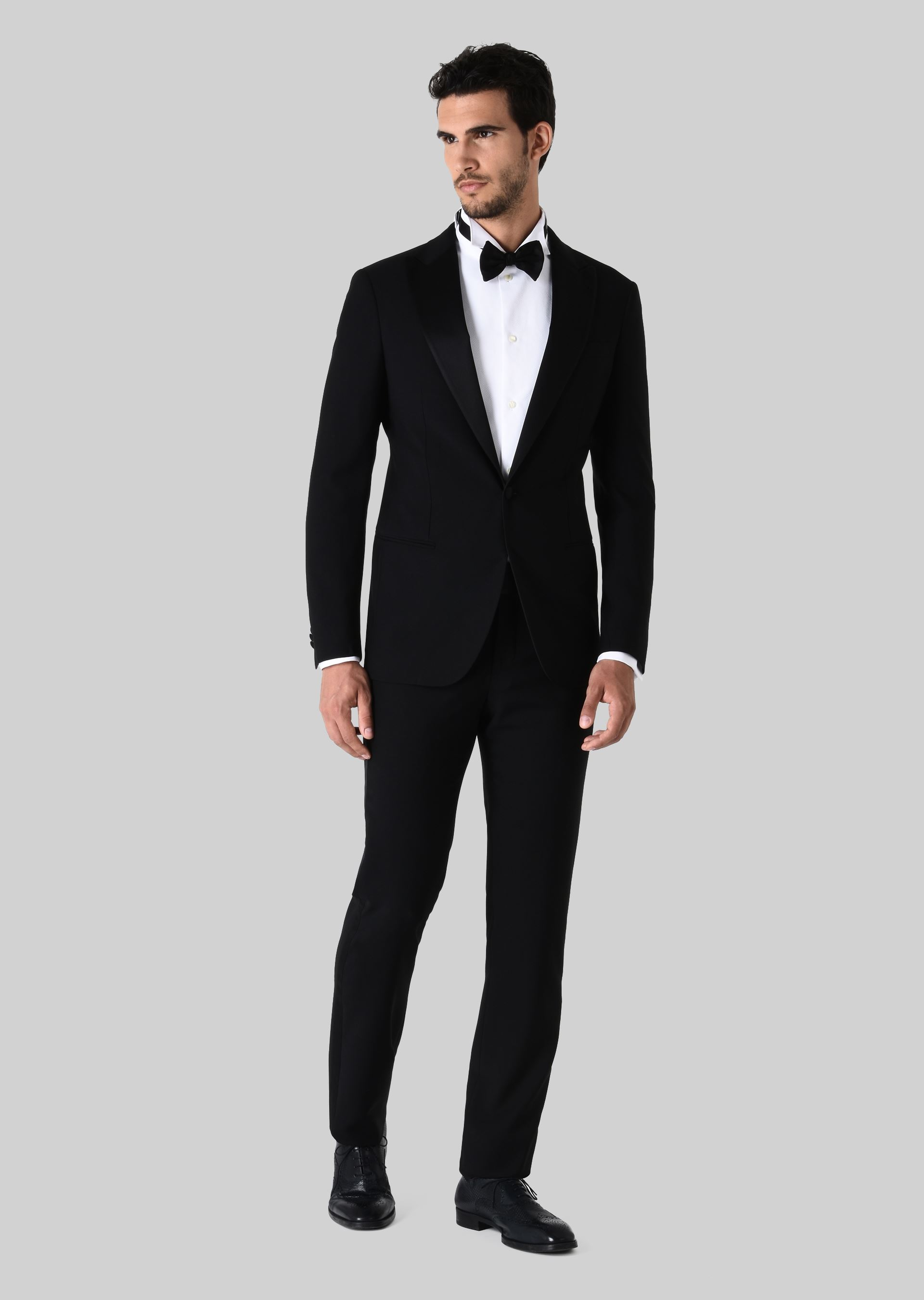soho wool tuxedo for men giorgio armani. Black Bedroom Furniture Sets. Home Design Ideas