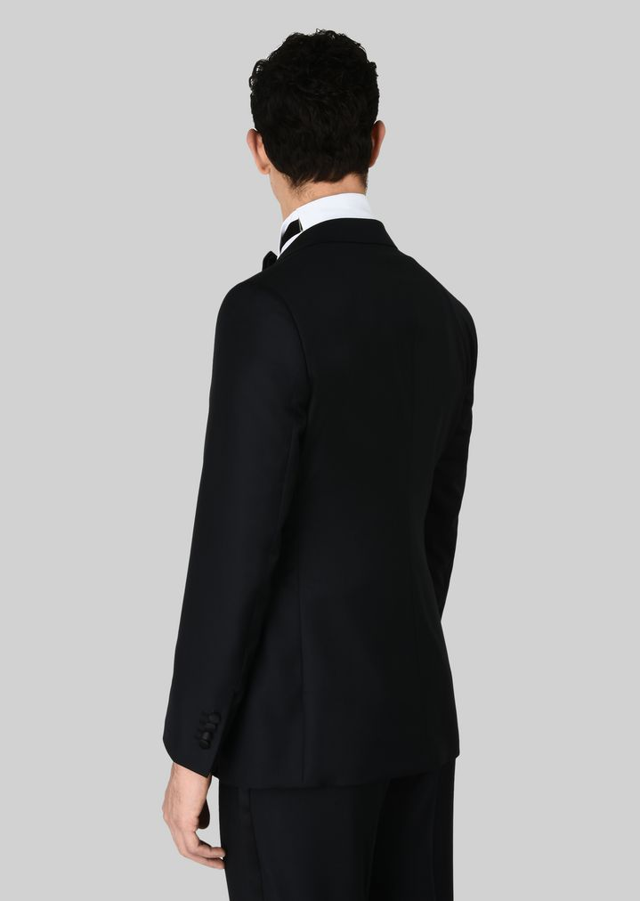 GIORGIO ARMANI WALL STREET WOOL AND CASHMERE TUXEDO  Suit Man e