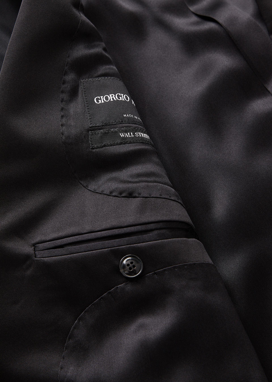 GIORGIO ARMANI WALL STREET WOOL AND CASHMERE TUXEDO  Suit U g