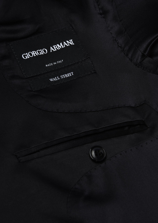GIORGIO ARMANI WALL STREET WOOL AND CASHMERE TUXEDO  Suit U i