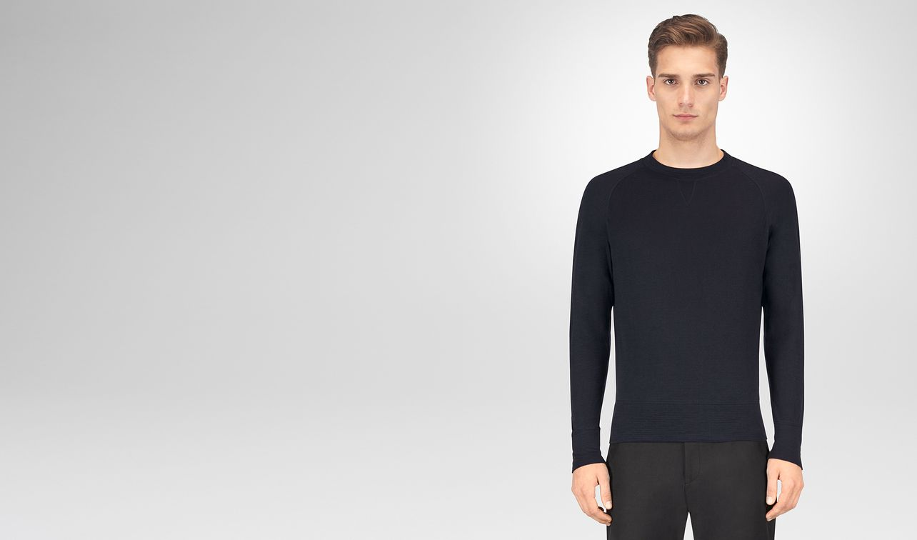 dark navy cotton t-shirt landing