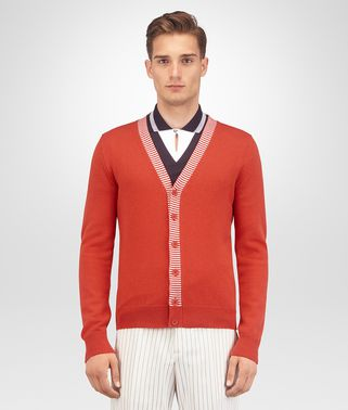 TERRACOTTA CASHMERE SWEATER