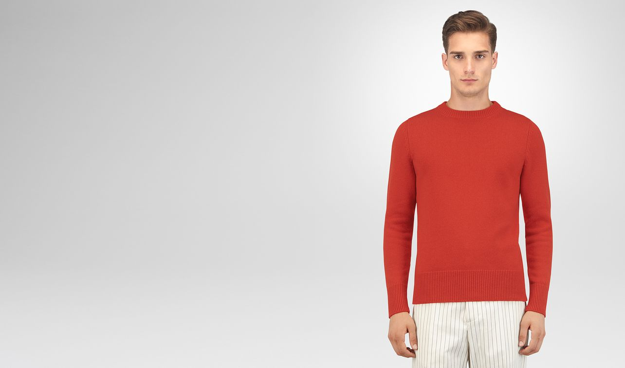 terracotta cashmere sweater landing