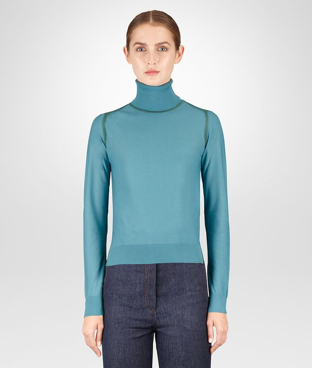 BOTTEGA VENETA THYME MERINO SWEATER Knitwear or Top or Shirt Woman fp