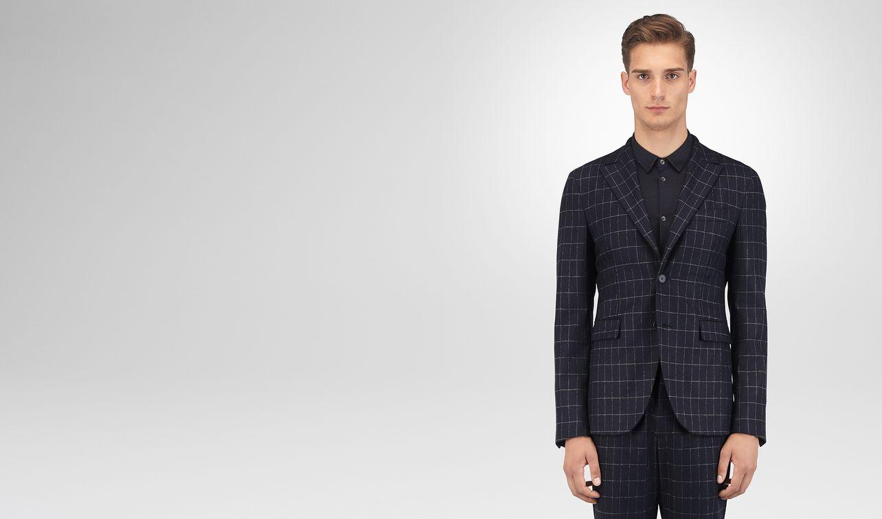 dark navy wool cashmere jacket landing