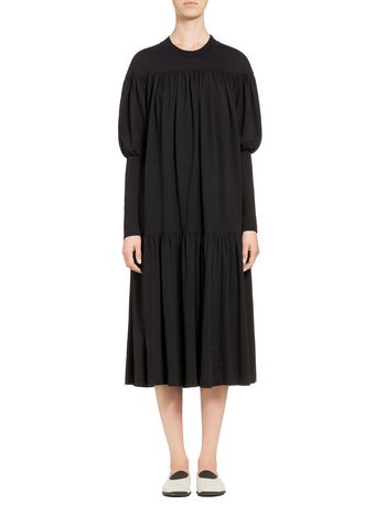 Marni Ruched jersey dress  Woman