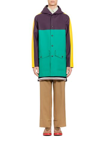 Marni Stutterheim raincoat for Marni in rubberized cotton Man