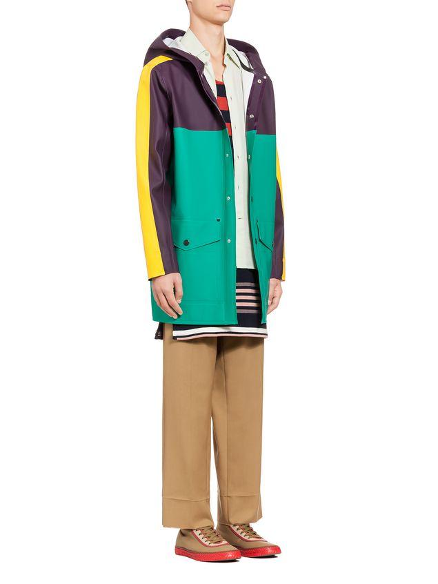 Marni Stutterheim for Marni raincoat in rubberized cotton Man - 4