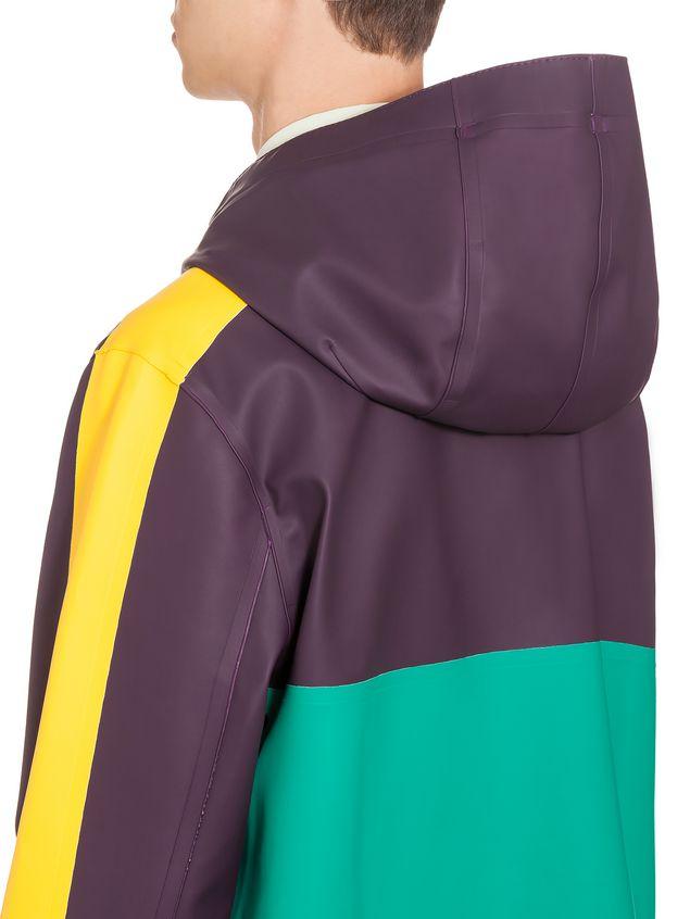 Marni Stutterheim for Marni raincoat in rubberized cotton Man - 3