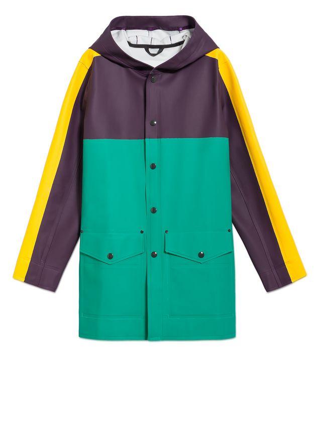 Marni Stutterheim for Marni raincoat in rubberized cotton Man - 2