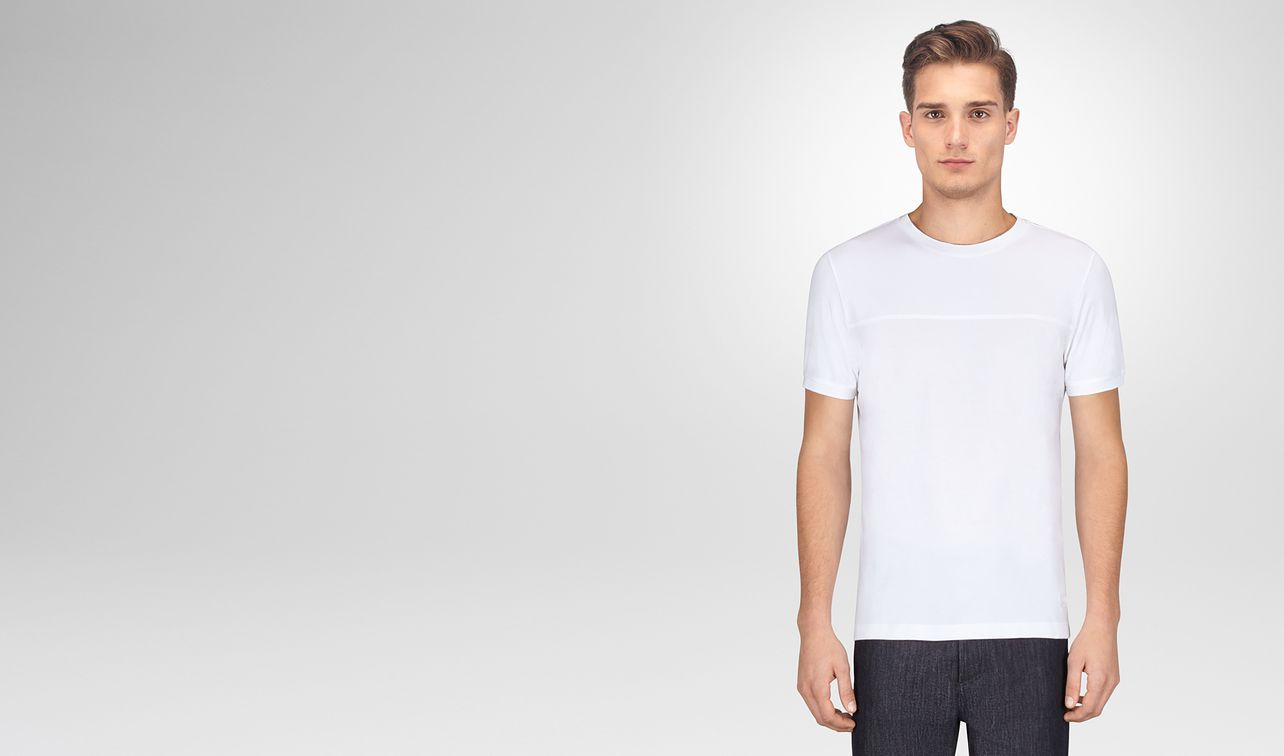 bianco cotton t-shirt landing