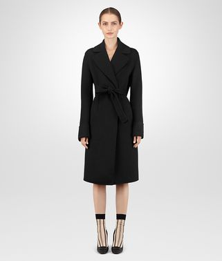 NERO DOUBLE CASHMERE COAT