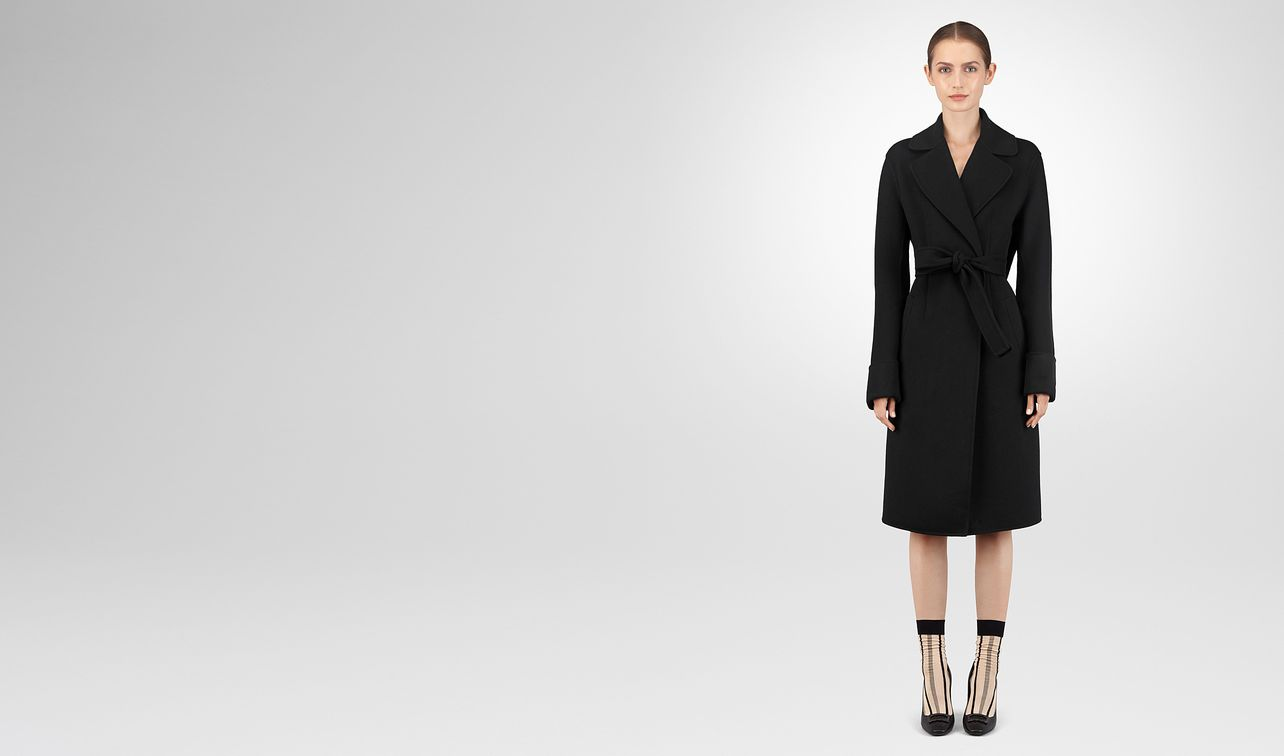 nero double cashmere coat landing