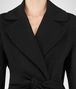 BOTTEGA VENETA NERO DOUBLE CASHMERE COAT Outerwear and Jacket Woman ap
