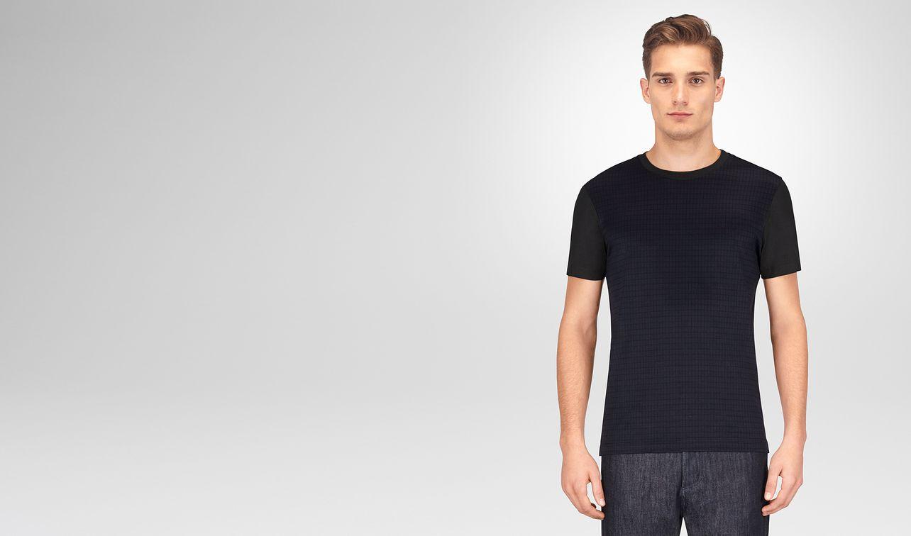 dark navy cotton t-shirt landing