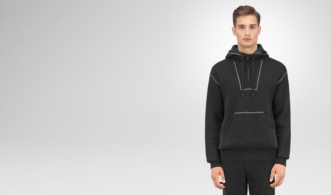 dark grey wool cashmere pullover landing