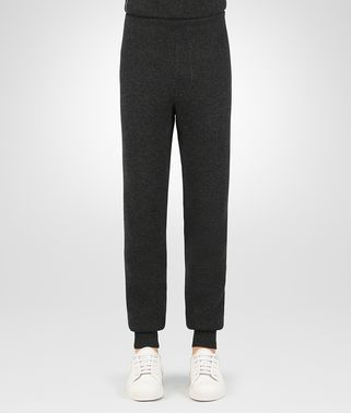 DARK GREY WOOL CASHMERE PANT