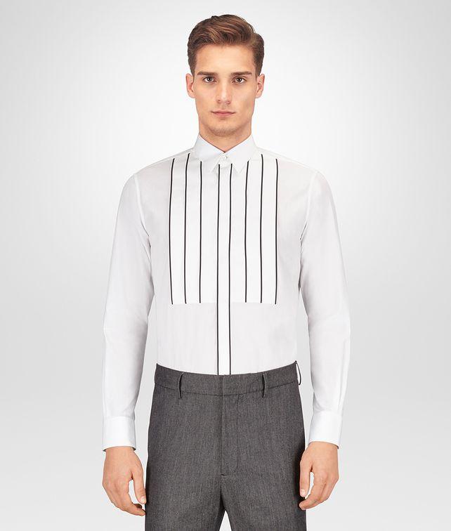 BOTTEGA VENETA BIANCO COTTON TUXEDO SHIRT Shirt [*** pickupInStoreShippingNotGuaranteed_info ***] fp