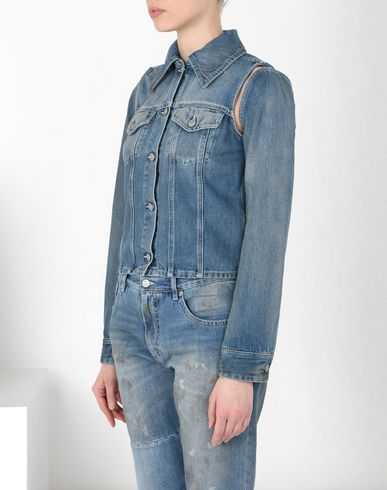 MM6 MAISON MARGIELA Blazer D Deconstructed denim jacket f