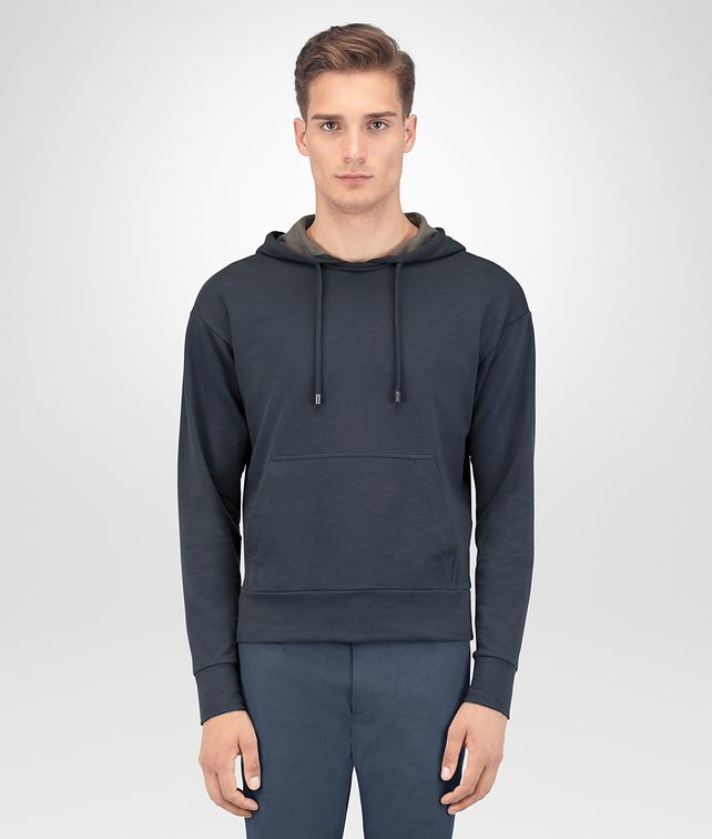 BOTTEGA VENETA DENIM COTTON PULLOVER Knitwear Man fp