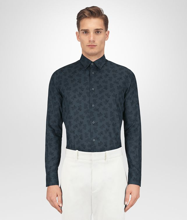 BOTTEGA VENETA DENIM COTTON SHIRT Shirt Man fp