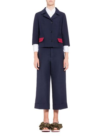 Marni Boxy jacket in cotton Woman