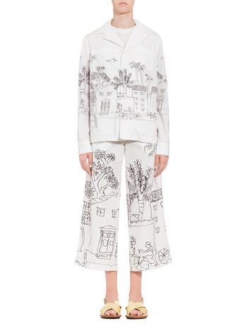 Marni Cotton jacket print by Maria Magdalena Suarez Woman