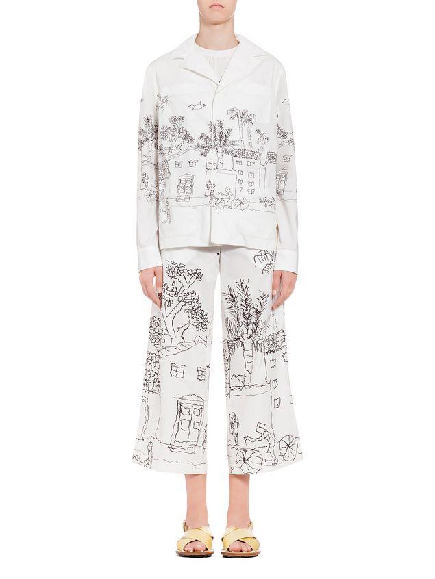 Cheap Sale Shop Offer Safe Payment Marni Magdalena Suarez printed blazer FNbqOU5