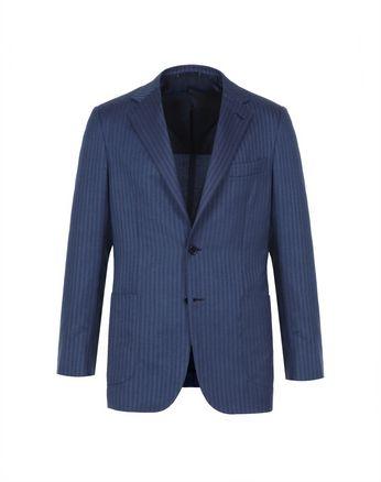 Bluette Herringbone Condotti Cashmere Jacket