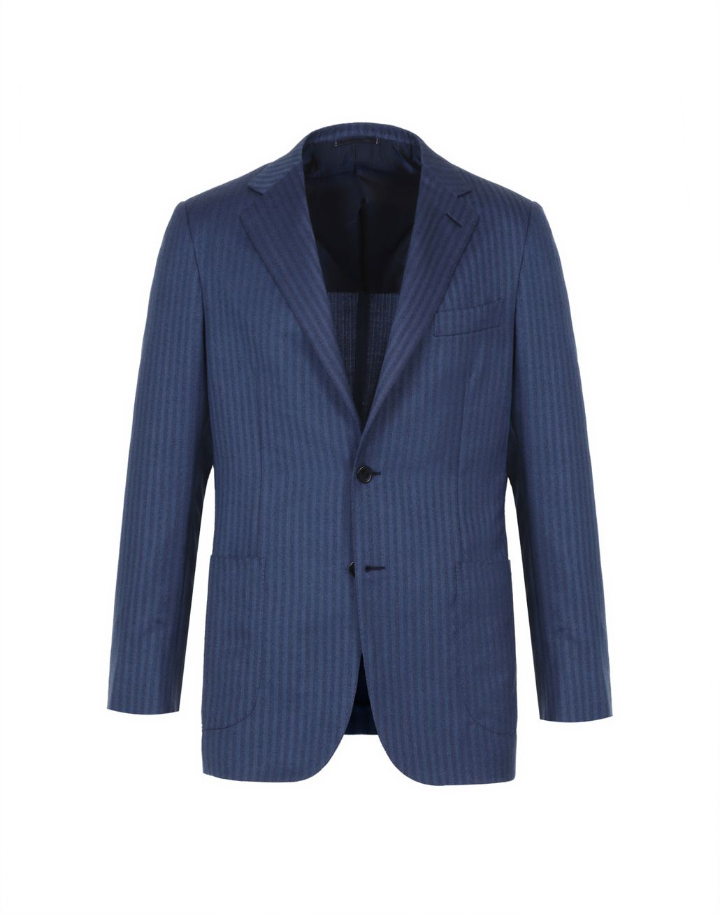 BRIONI Bluette Herringbone Condotti Cashmere Jacket Suits & Jackets Man f