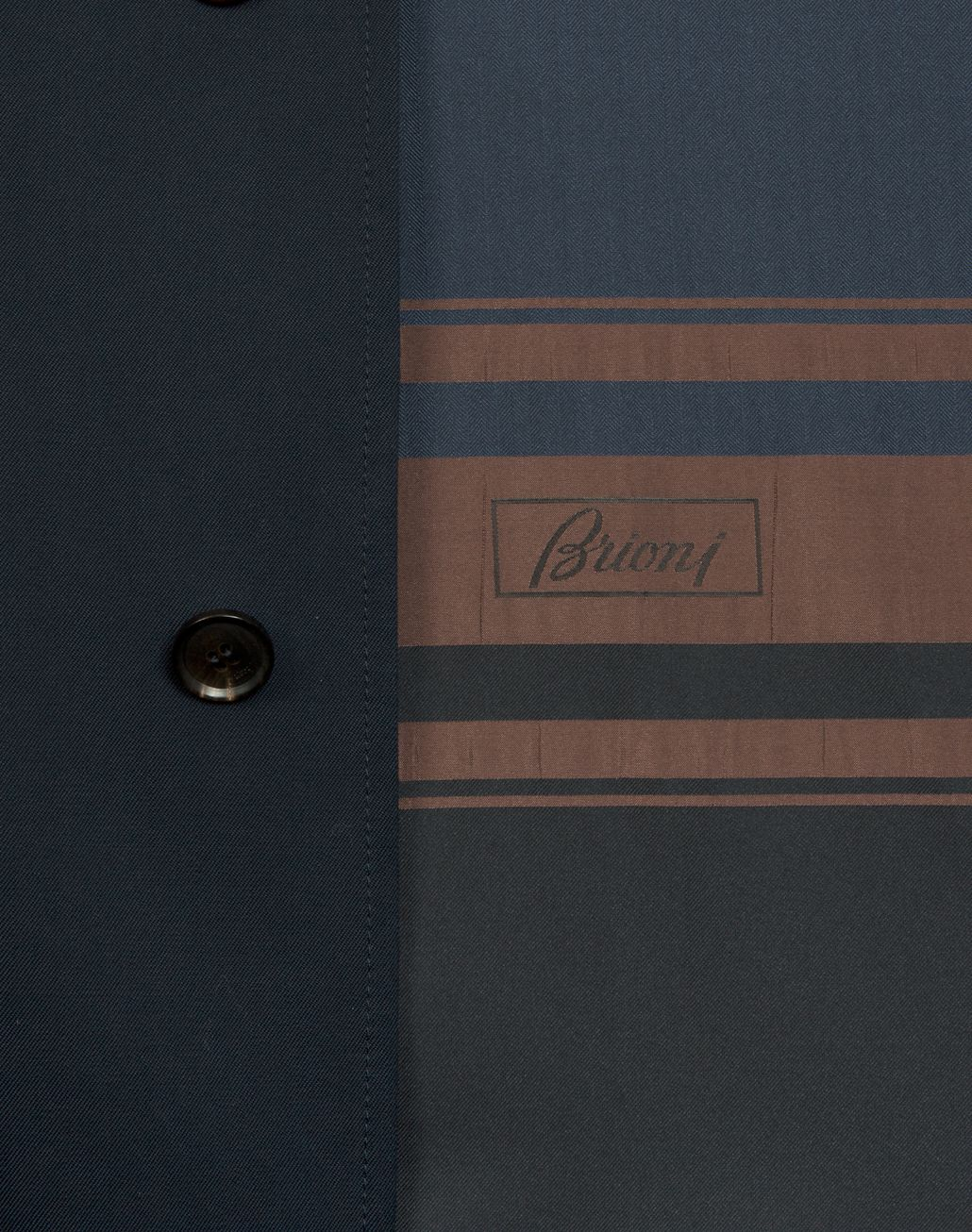 BRIONI Navy-Blue Heritage Coat Outerwear [*** pickupInStoreShippingNotGuaranteed_info ***] a