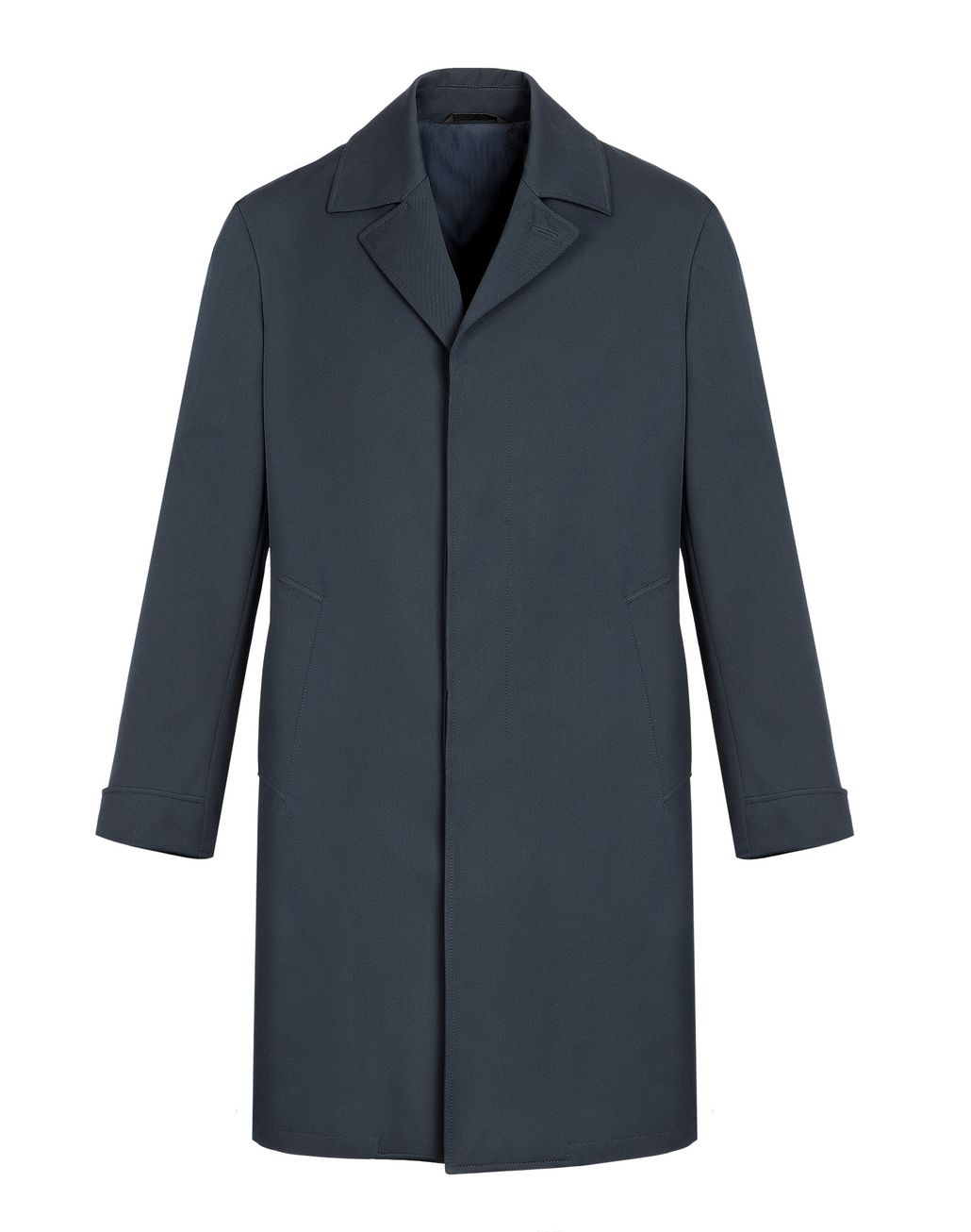 BRIONI Navy Blue Heritage Coat Outerwear Man f