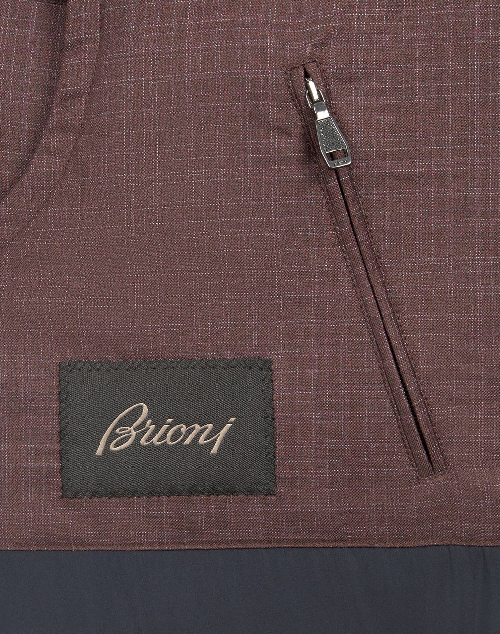 BRIONI Bordeaux Light Weight Vest Outerwear [*** pickupInStoreShippingNotGuaranteed_info ***] a