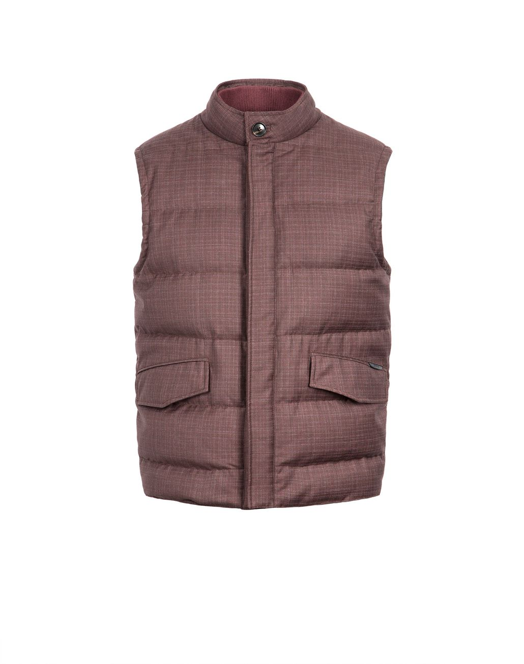 BRIONI Bordeaux Light Weight Vest Outerwear Man f