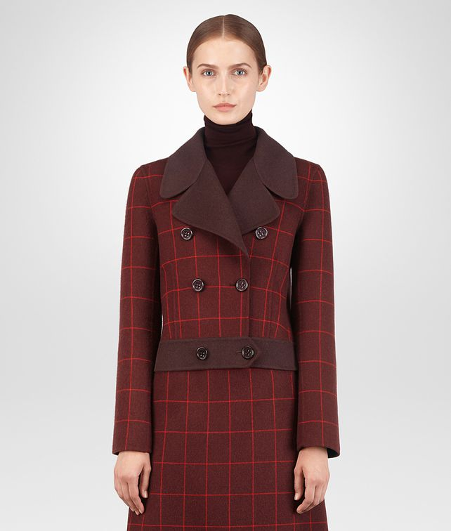 BOTTEGA VENETA GIGOLO RED CASHMERE JACKET Outerwear and Jacket [*** pickupInStoreShipping_info ***] fp