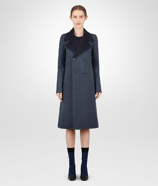 DENIM CASHMERE COAT