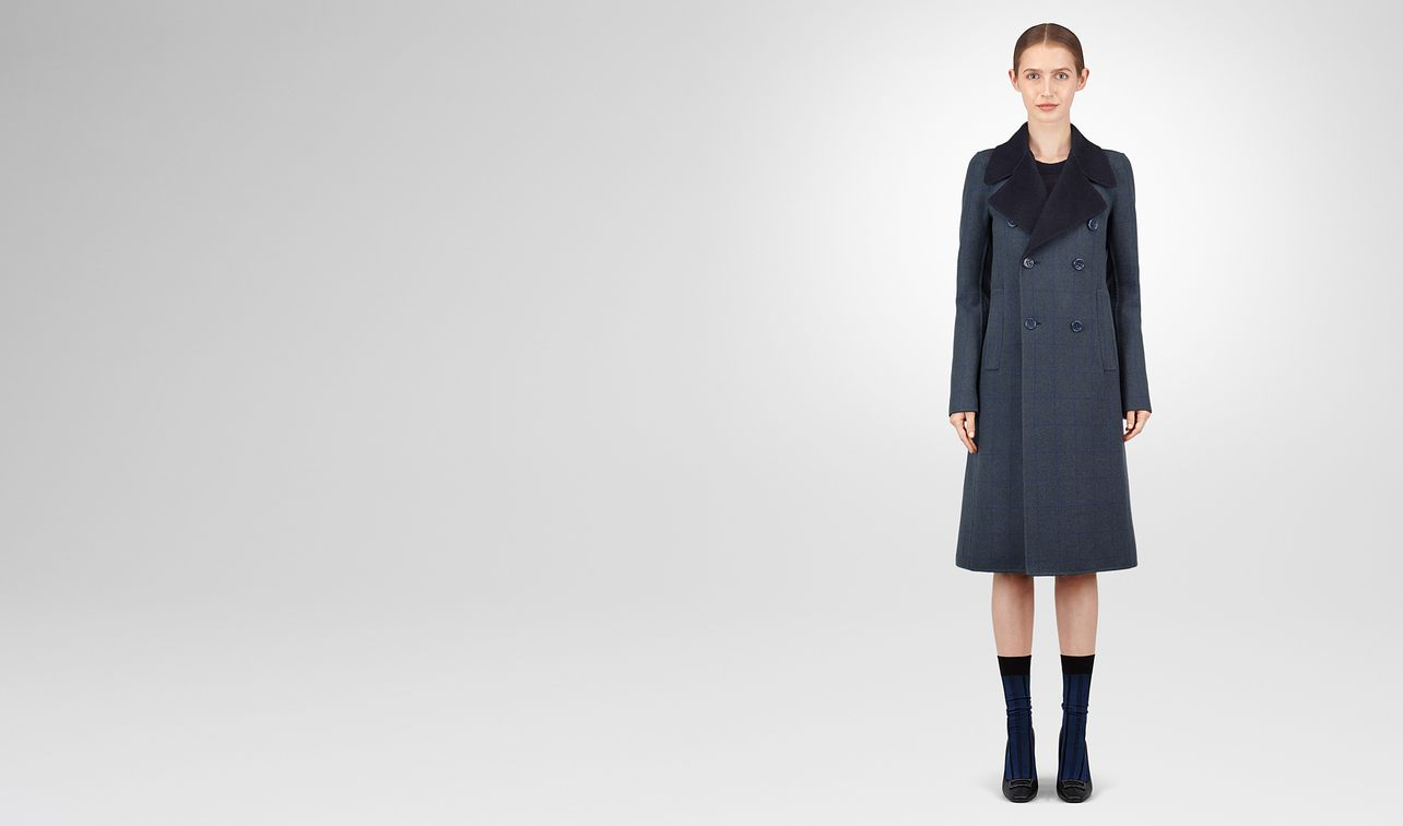 denim cashmere coat landing