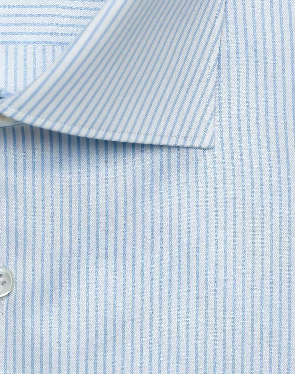 BRIONI Sky Blue and White Striped Formal Shirt  Formal shirt Man e