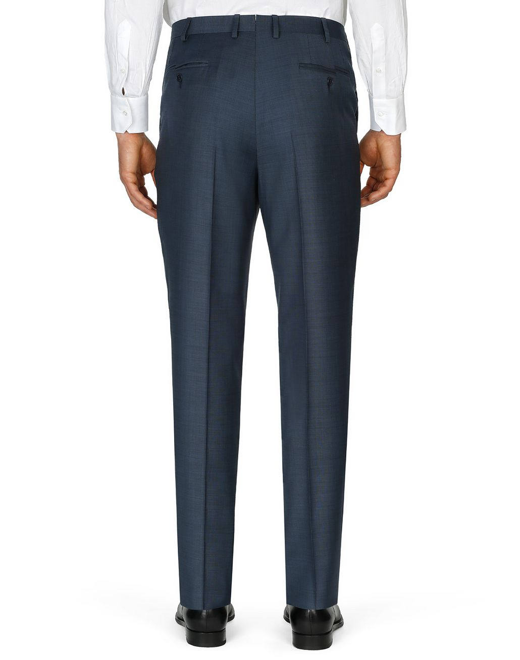 BRIONI Navy-Blue Tigullio Pants Trousers Man d