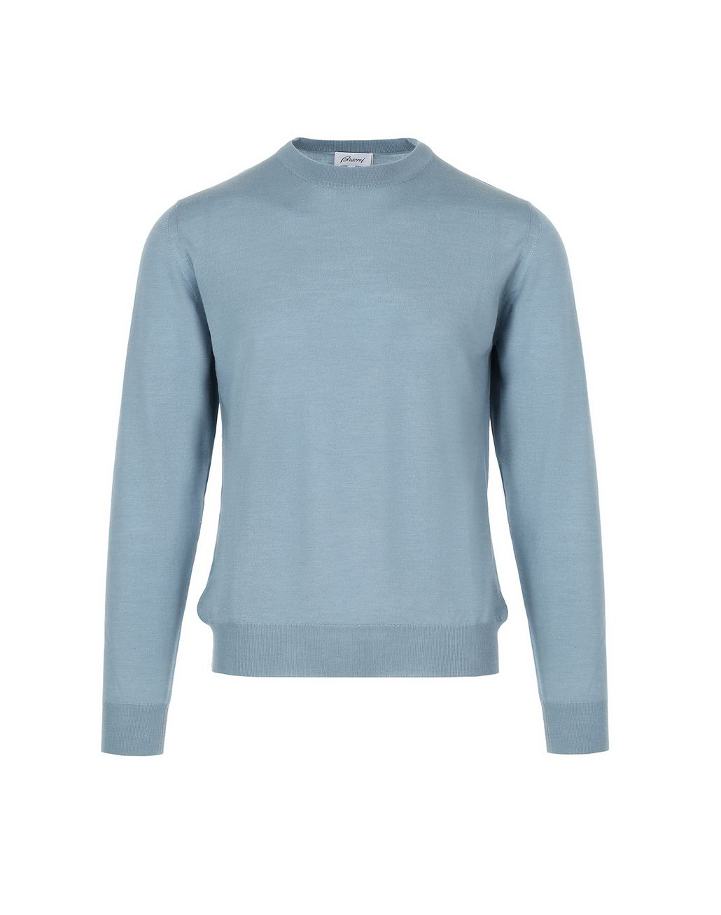 BRIONI Nile Blue Sweater Knitwear Man f