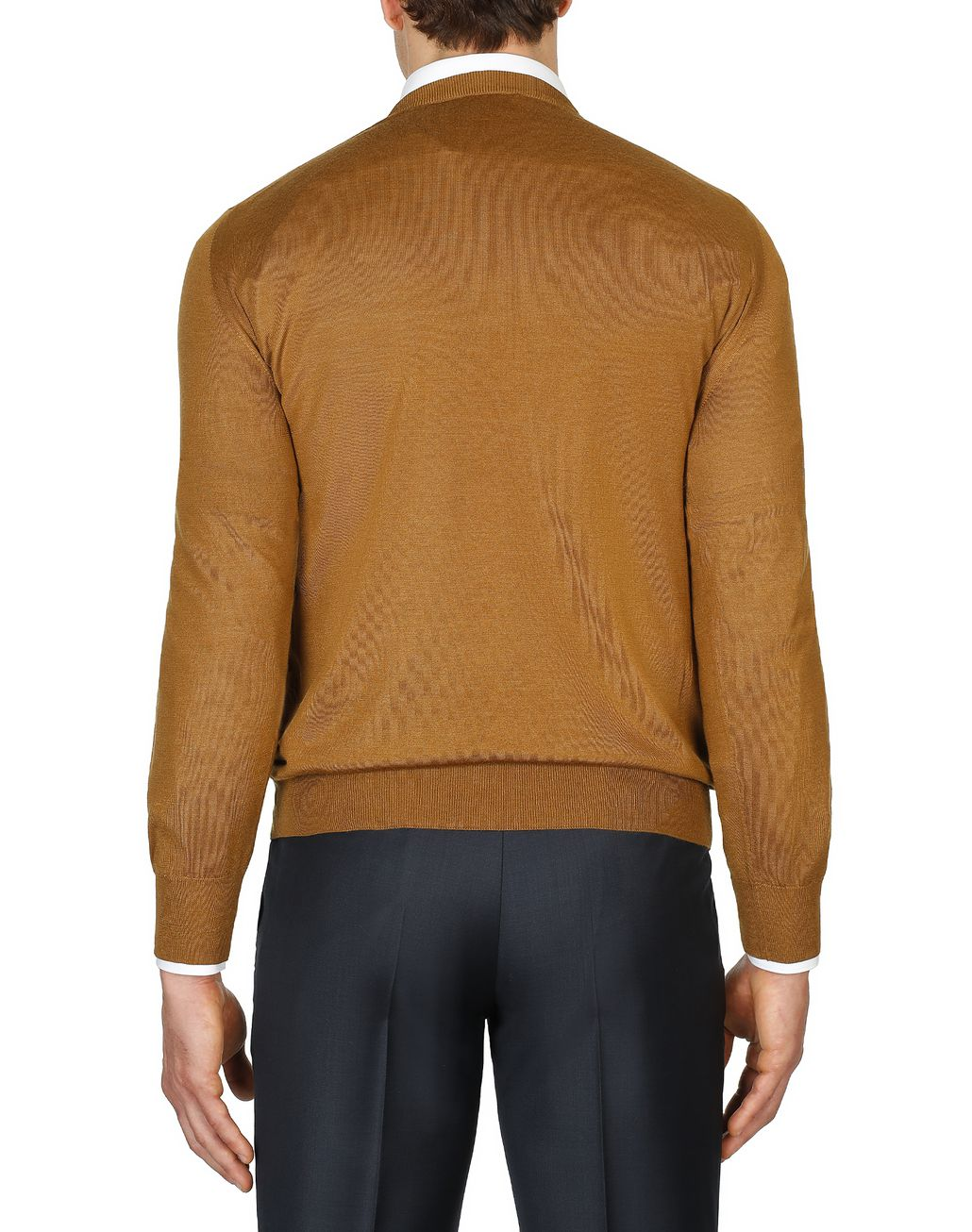 BRIONI Mustard Sweater Knitwear [*** pickupInStoreShippingNotGuaranteed_info ***] d