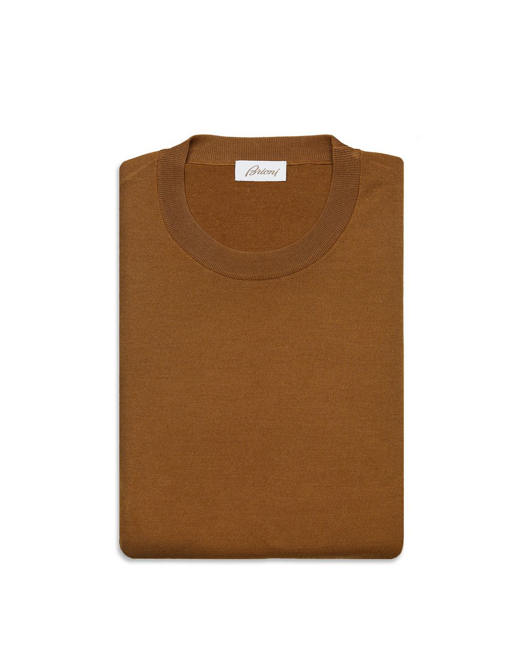 BRIONI Mustard Sweater Knitwear [*** pickupInStoreShippingNotGuaranteed_info ***] e