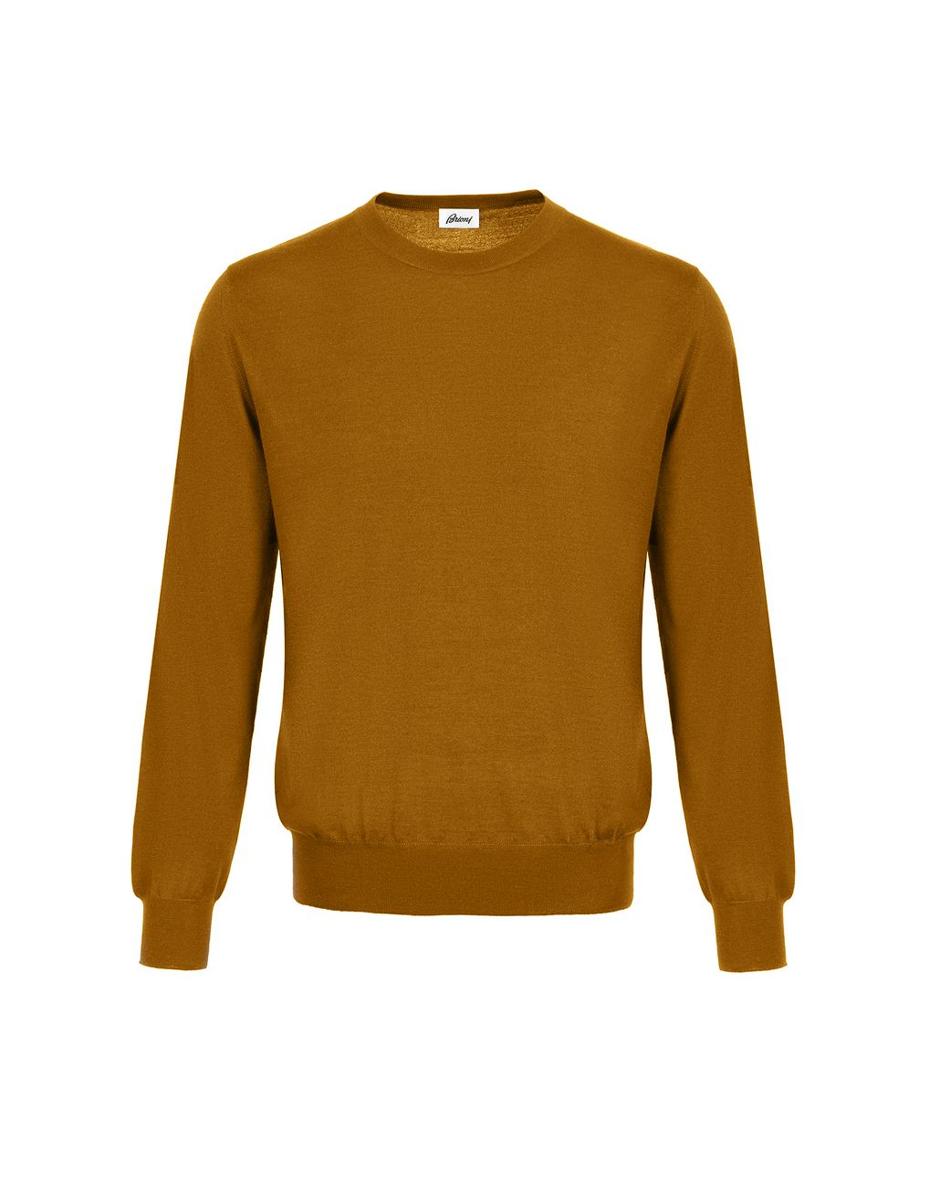 BRIONI Mustard Sweater Knitwear [*** pickupInStoreShippingNotGuaranteed_info ***] f