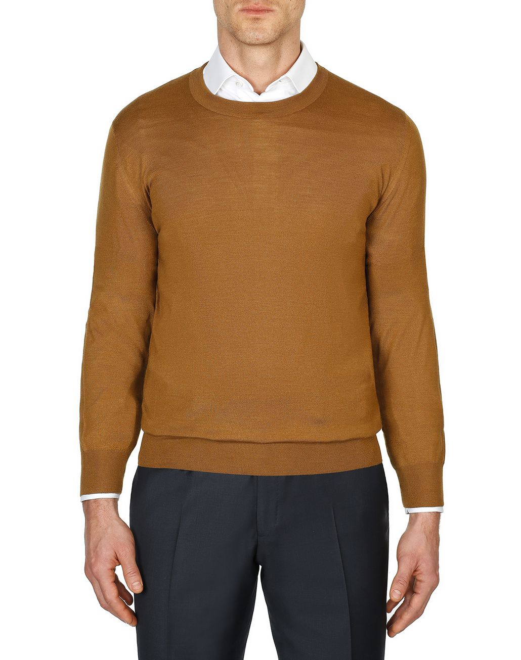 BRIONI Mustard Sweater Knitwear [*** pickupInStoreShippingNotGuaranteed_info ***] r