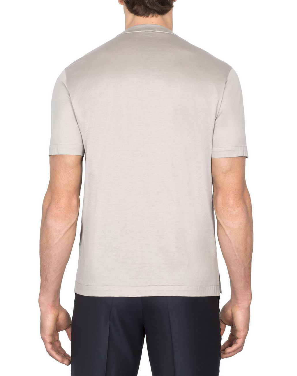 BRIONI Beige Logoed T-Shirt T-Shirts & Polos [*** pickupInStoreShippingNotGuaranteed_info ***] d