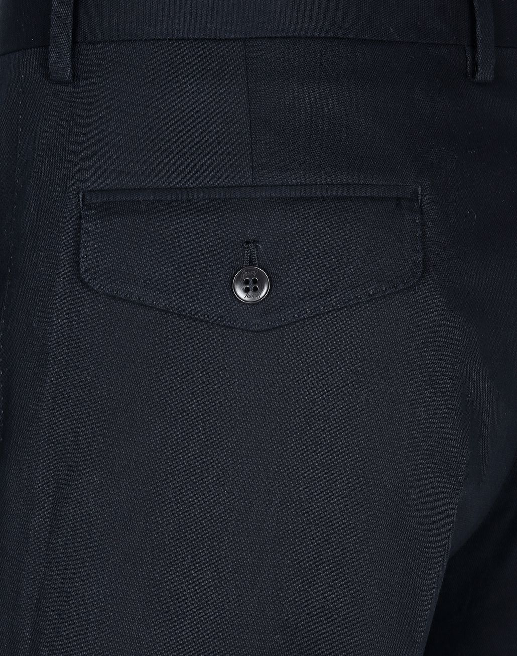 BRIONI Dark Blue Tignes Chino Trousers Trousers Man e