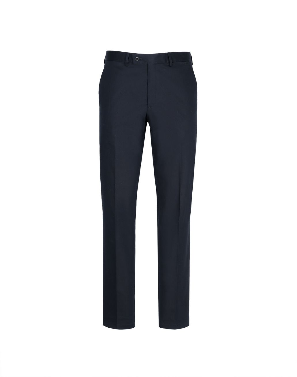 BRIONI Dark Blue Tignes Chino Trousers Trousers Man f