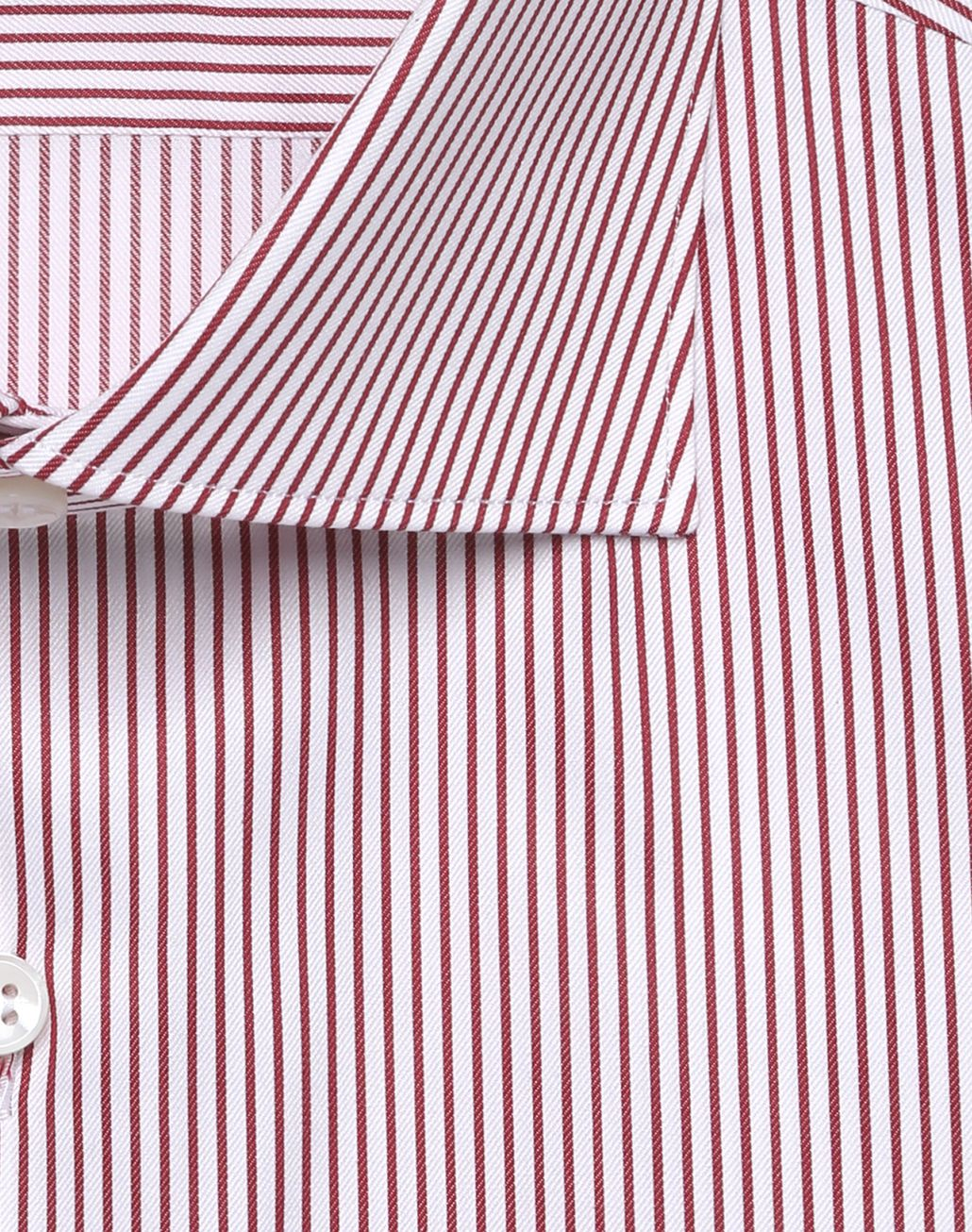 BRIONI Bordeaux and White Striped Formal Shirt  Formal shirt Man e
