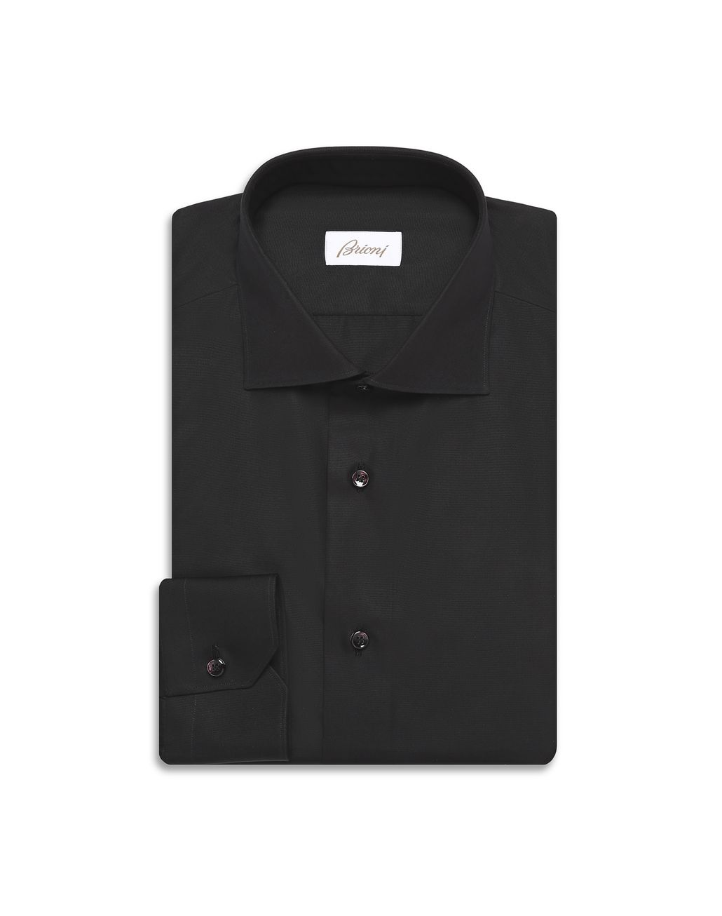 BRIONI Black Formal Shirt Formal shirt [*** pickupInStoreShippingNotGuaranteed_info ***] f