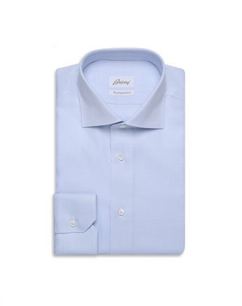 Sky Blue and White Formal Shirt
